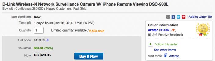 D-Link-wireless-930-deal-ebay