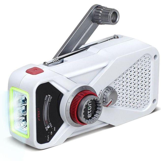 Eton American Red Cross Hand-Turbine-AM:FM-NOAA-Emergency-Radio:Flashlight