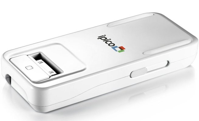 General-Imaging-PJ205-ipico-Handheld-LED-Personal-Projector-for-30-pin-iPhone:iPod-touch