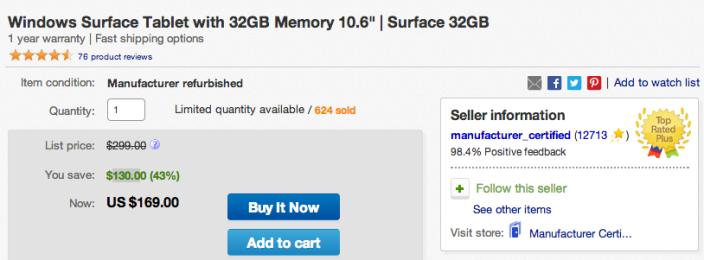Microsoft Surface Tablet 10-inch, 32GB (refurb)-sale-03