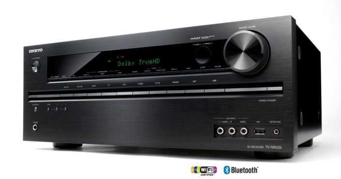 Onkyo 5.2 channel-(TX-NR626) -network A:V receiver-sale-refurb-01