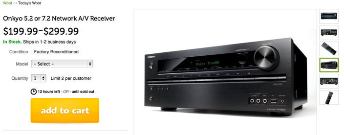 Onkyo 5.2 channel-(TX-NR626) -network A:V receiver-sale-refurb-03