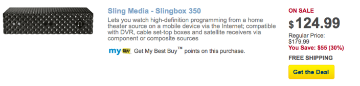 slingbox-350-best-buy-deal-of-the-day