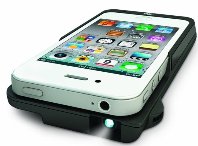 3M-Projector-Sleeve-for Apple-iPhone-4:4s, Black