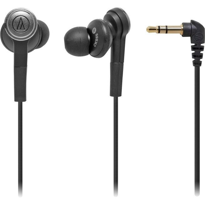 Audio-Technica-ATH-CKS55BK-Solid-Bass-In-Ear-Headphones