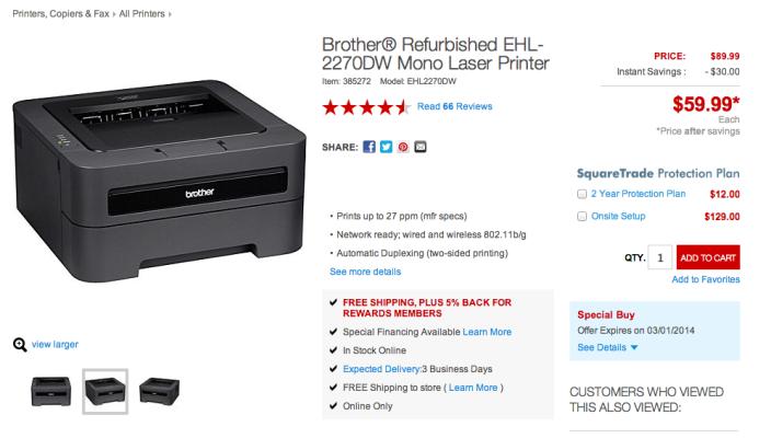 Brother HL-2270DW Compact Laser Printer-sale-refurb-02
