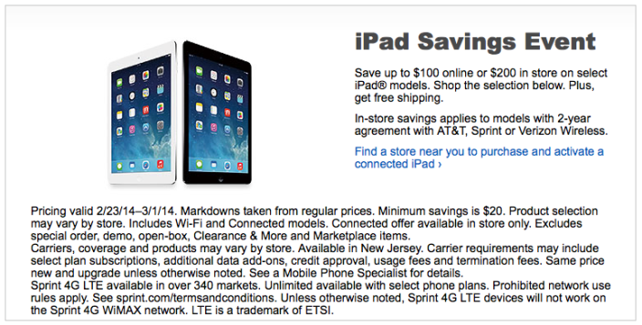 iPad-Best-Buy-sale-event