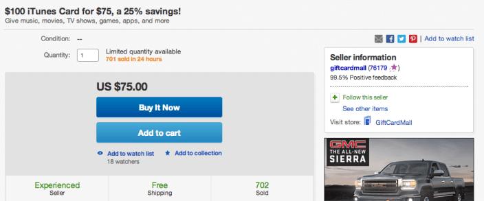 itunes-gift-card-deal-ebay-apps