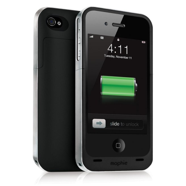 Mophie-Juice-Pack-Air-Charging-Battery-Case for-Apple-iPhone-4-and-4S-Refurbished