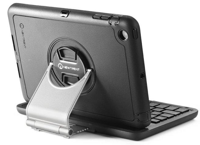 New Trent Airbender Mini Rugged Water Resistant Wireless Bluetooth iPad Mini Keyboard case