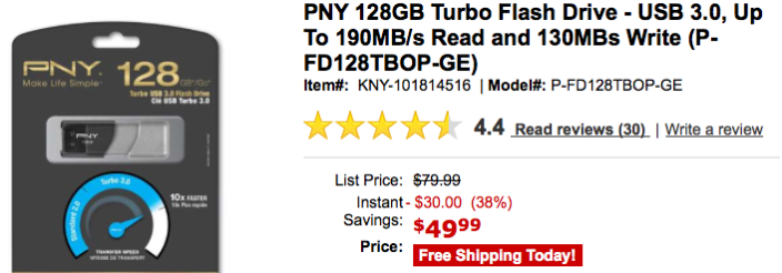PNY-128gb-tiger-direct-deal