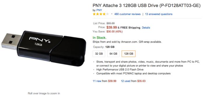 128GB PNY Attache flash drive-P-FD128ATT03-GE-sale-03