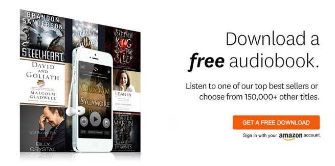 Audible Free Trial Details Get an audiobook of your choice free with a 30-day trial