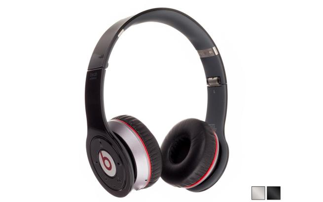 Beats by Dr. Dre Wireless On-Ear Bluetooth Headphones with Built-In Earcup Controls, In-line Control Module and Ergonomic Collapsible Design (Choice of Black or White)
