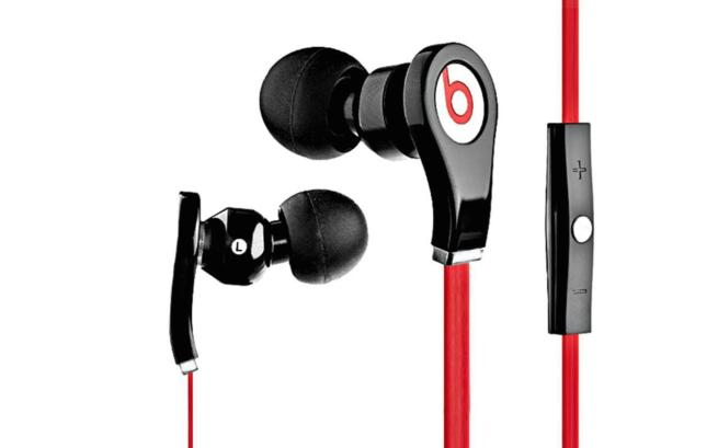 Beats by Dre Tour In-Ear Noise Isolating Headphones with In-line Control Module, Solid Metal Housing and Tangle-Free Flat Cable (Choice of 2 Colors)