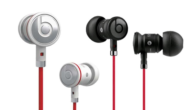 Beats by Dre urBeats Earbud Headphones w: Built-In In-Line Mic for Calls & Choice of Black or White Finish