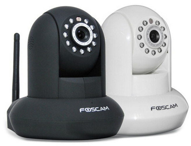 Foscam HD Wireless:Wired Pan:Tilt IP Security Camera with IR Motion Detection and Two-Way Audio