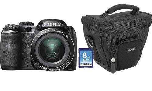 Fujifilm - FinePix S4530 14.0-Megapixel Digital Camera - Black