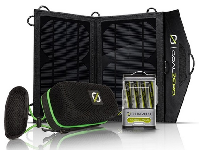 Goal Zero 19026 Rock Out Solar Kit with Guide 10 Plus