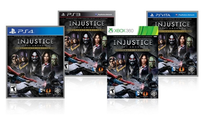 Injustice Gods Among Us Ultimate Edition. Multiple Console Versions
