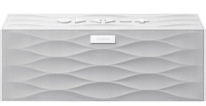 Jawbone BIG JAMBOX Wireless Bluetooth Speaker - White Wave - Retail Packaging