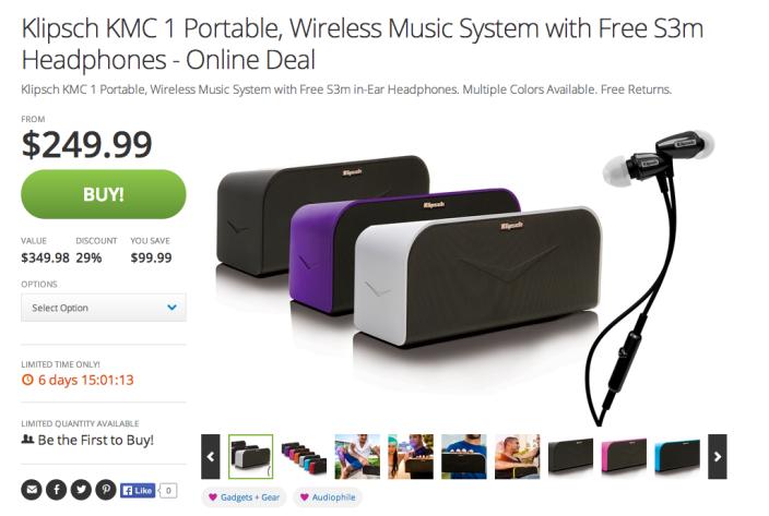Klipsch KMC 1 Portable Wireless Music System-sale-02