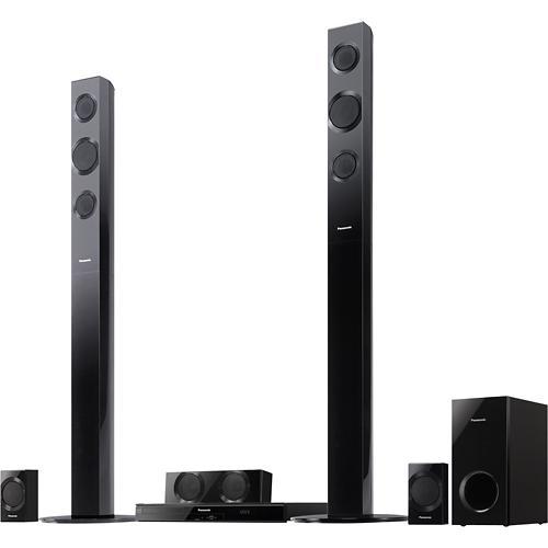 Panasonic 1000W 5.1-Ch. 3D : Wi-Fi Blu-ray Home Theater System