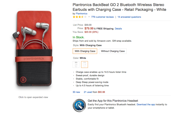 Plantronics BackBeat GO 2 Bluetooth wireless-earbuds-charging case-sale-02
