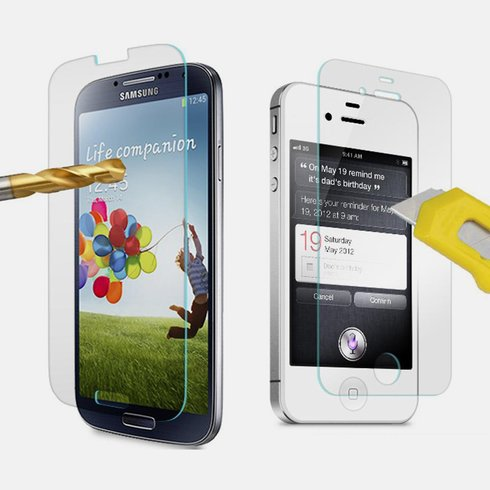 Plexiglass Screen Protector for iPhone and Samsung