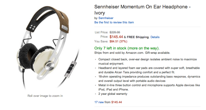 Sennheiser Momentum on ear headphones-sale-02