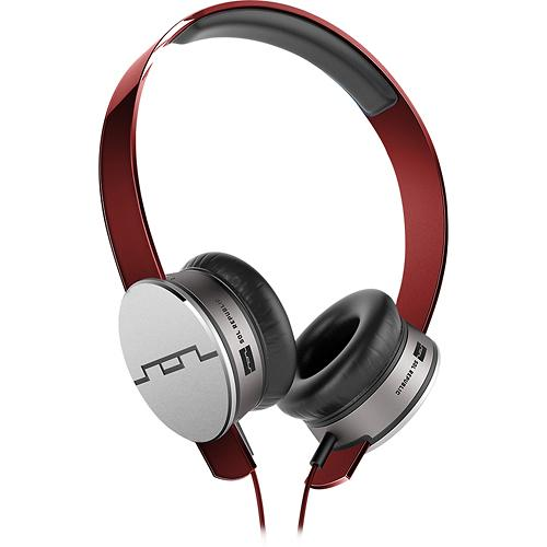 SOL REPUBLIC - Tracks HD On-Ear Headphones - Red