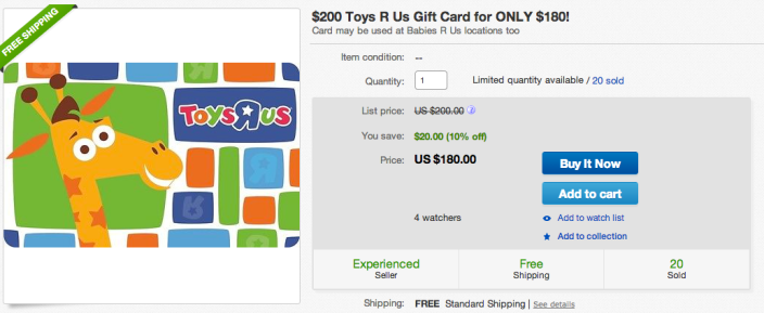 """Toys """"R"""" Us gift card-200-sale-01"""