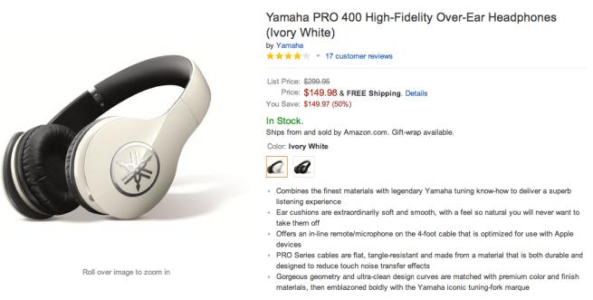 Yamaha PRO 400-High-Fidelity Premium over-ear headphones-sale-02