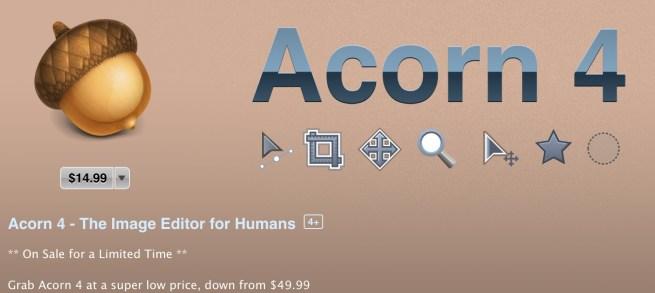 acorn 4 app store