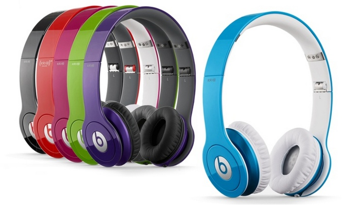 Beats by Dre Solo HD Headphones. Multiple Colors Available