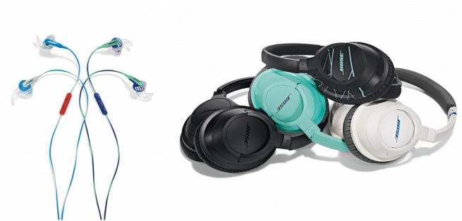 Bose SOUNDTRUE™ AROUND-EAR HEADPHONES and earbuds