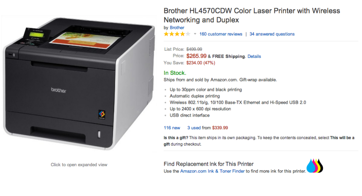 Brother HL4570CDW Color Laser Printer with Wireless Networking and Duplex-sale-02