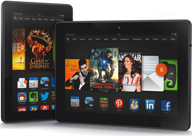 Kindle Fire HDX Familie
