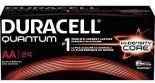 Duracell Battery Quantum Alkaline AA, 24:Pack