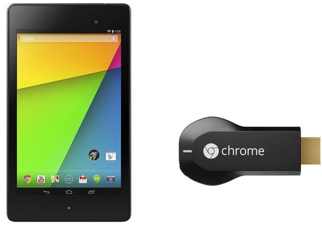 Free Google Chromecast when you purchase a Nexus 7 for .edu