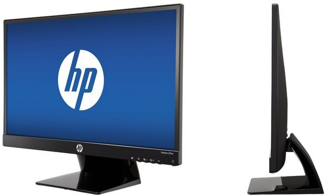 HP - Pavilion 22bw 21.5%22 IPS LED HD Monitor