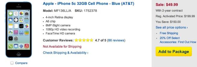 iPhone 5c Best Buy