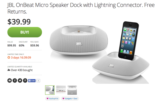 JBL OnBeat Micro Speaker Dock-Lightning Connector-sale-02