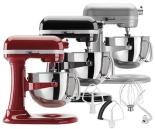 KitchenAid Stand Mixer - 10 speeds, Soft Start, electronic mixing sensor, 575W motor, direct-drive, all-steel transmission