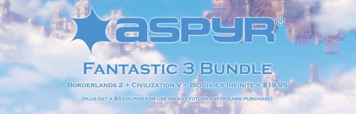 Mac games-Aspyr-BioShock-Borderlands2-sale