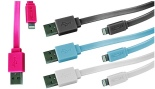 Mota Apple-Certified 6 or 10 Ft. iPhone 5 Lightning Cable from $13.99–$16.99. Multiple Colors Available