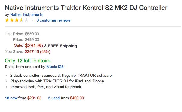 Up to $250 off Native Instruments DJ rigs: Traktor Kontrol