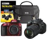 Select Nikon DSLR Cameras with Camera Bag and DVD