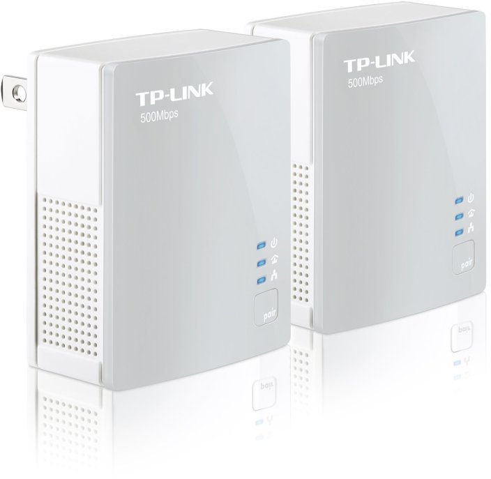 TP-LINK High-speed AV 500Mbps Nano-Powerline Adapter Starter Kit (2 units)-sale-01