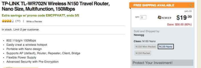 tp-link-newegg-travel-router